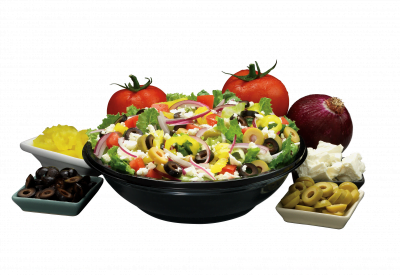Menu Mediterranean Salad
